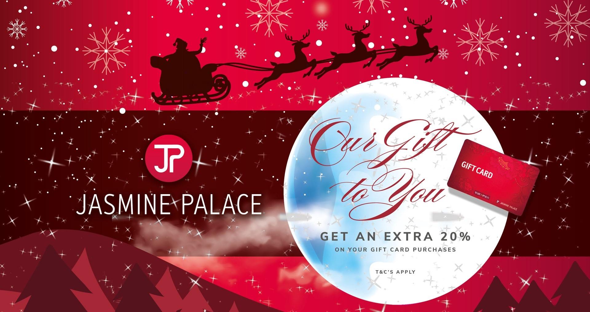 Jasmine Gift Card Promo